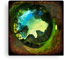 Blarney Castle, Ireland - Wormhole Canvas Print