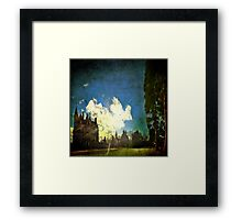 Blarney House, Ireland - Into the Sun Framed Print