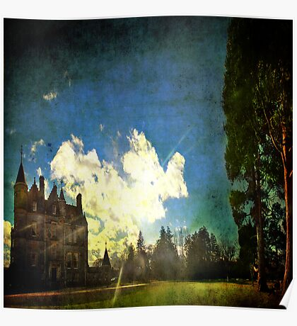 Blarney House, Ireland - Into the Sun Poster