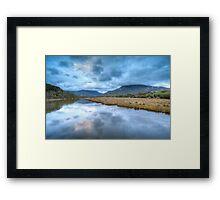 Tidal River Framed Print