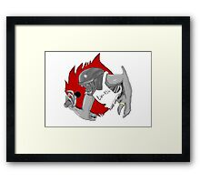 Alien lv-462 strait from La Framed Print