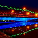 Ferdowsi Bridge - Isfahan - Iran by Bryan Freeman