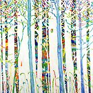 Kerry Thompson - I seem to paint trees by Kerry  Thompson