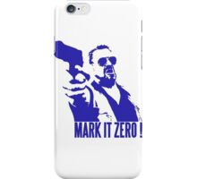 Mark it Zero Blue iPhone Case/Skin