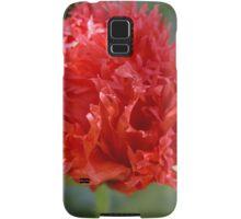 Flamboyant Poppy, Tumut,NSW, Australia. Samsung Galaxy Case/Skin