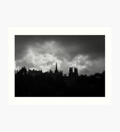 'Scottish Summer Skyline' Art Print