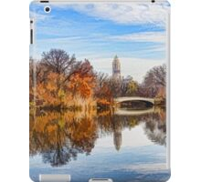New York City Central Park Bow Bridge - Impressions Of Manhattan iPad Case/Skin