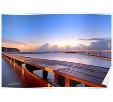 The platform at North Narrabeen tidal pool Poster