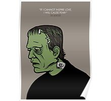 The Monster, Frankenstein Poster