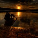 Shadows Of Twilight - Narrabeen Lakes, Sydney - The HDR Experience by Philip Johnson