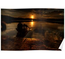 Shadows Of Twilight - Narrabeen Lakes, Sydney - The HDR Experience Poster