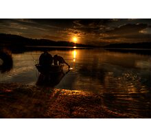 Shadows Of Twilight - Narrabeen Lakes, Sydney - The HDR Experience Photographic Print