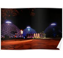 Domes light up Poster