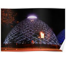 Domes light up2 Poster