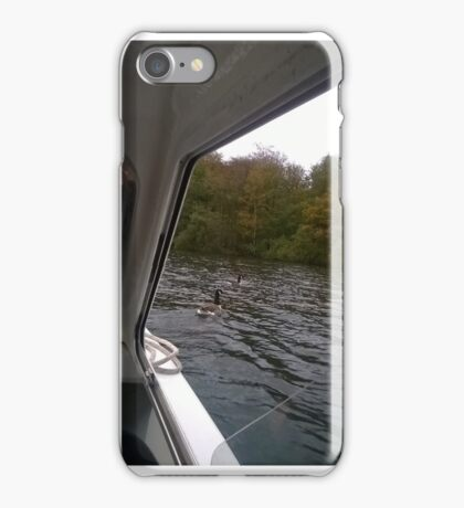Goose in the River Thames iPhone Case/Skin