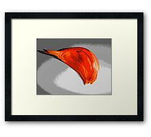 Garlic Colorized Framed Print