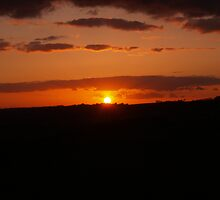 Sunset - Winchelsea Town, May 2010 by Dan Bevan Photography