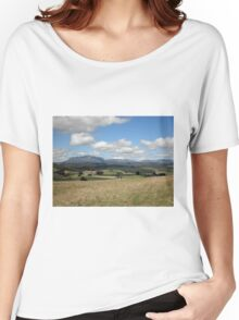 Mount Roland From Wilmot, Northern Tasmania, Australia. Women's Relaxed Fit T-Shirt