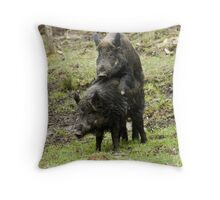 Makin' Bacon Throw Pillow