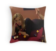 Saturday Night Throw Pillow