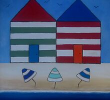 Two Shacks 11 by Julie  Sutherland