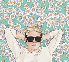 Nialler daisies field by coconutwishes