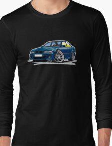 BMW M5 (E39) Blue Long Sleeve T-Shirt