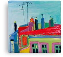 Toulouse roofs Canvas Print