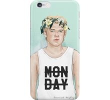 Nialler Floral crown iPhone Case/Skin