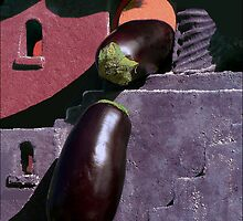 Eggplant Theatre: Romeo and Juliet by paintingsheep