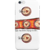 Hearts and Circles iPhone Case/Skin