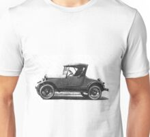 Shiny Happy days ... with the Model T ... Output As a comic! a mythical car, ideal for illustrated stickers, phone shell etc... 2015  (c)(t) 03 by Olao-Olavia / Okaio Créations Unisex T-Shirt