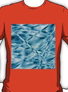 Crystal cylinders in water T-Shirt