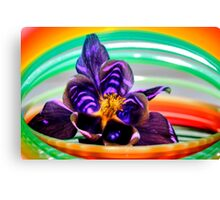 Flower Slinky Fun 1 Canvas Print