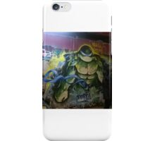 Graffiti Art of The Teenage Mutant Ninja Turtles iPhone Case/Skin