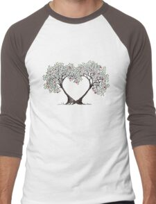 love trees Men's Baseball ¾ T-Shirt