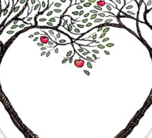 love trees Sticker