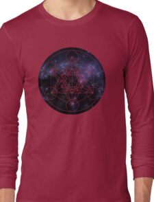 Metatron's Cube Long Sleeve T-Shirt