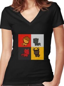 My little sigil (GoT edition) Women's Fitted V-Neck T-Shirt