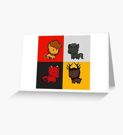 My little sigil (GoT edition) Greeting Card