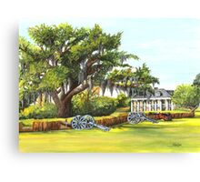 Beauregard Plantation Canvas Print