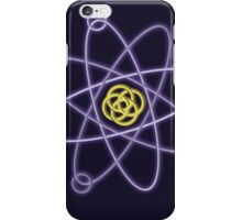 Gold - Silver Atomic Structure iPhone Case/Skin