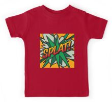 Comic Book SPLAT! Kids Tee