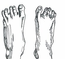 Happy feet by Yael Kisel