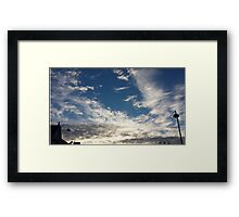 Sharonz Skylines © Framed Print