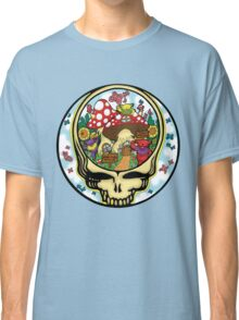 Grateful Dead - Steal Your Face, Dancing Bears and Mushrooms Classic T-Shirt