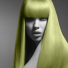blonde haired girl by Lildudette016