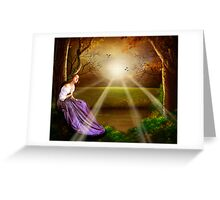 Forest retreat Greeting Card