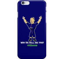 Zlatan Egohimovic - who the hell are you? iPhone Case/Skin