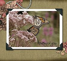 Vintage Butterflies by Maria Dryfhout